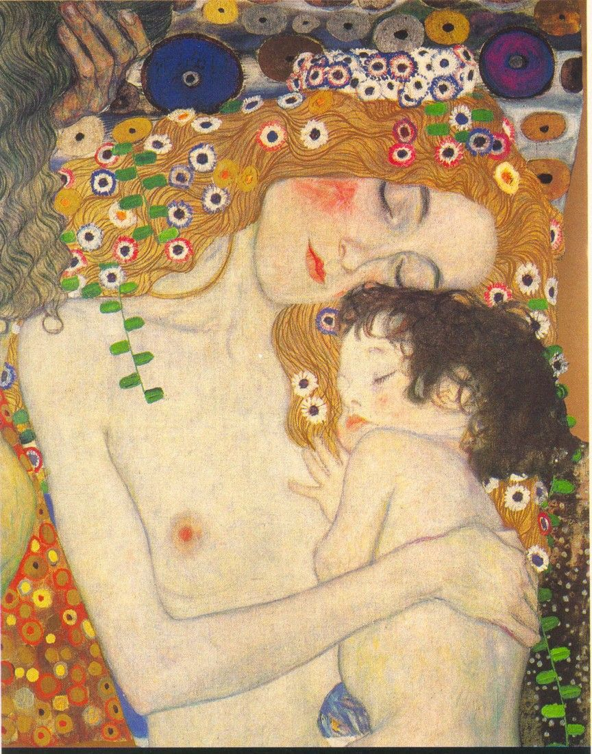 klimt-maternidad