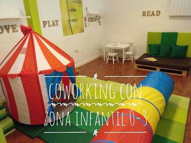 ¿Te imaginas un lugar donde poder trabajar mientras tus hijos disfrutan?