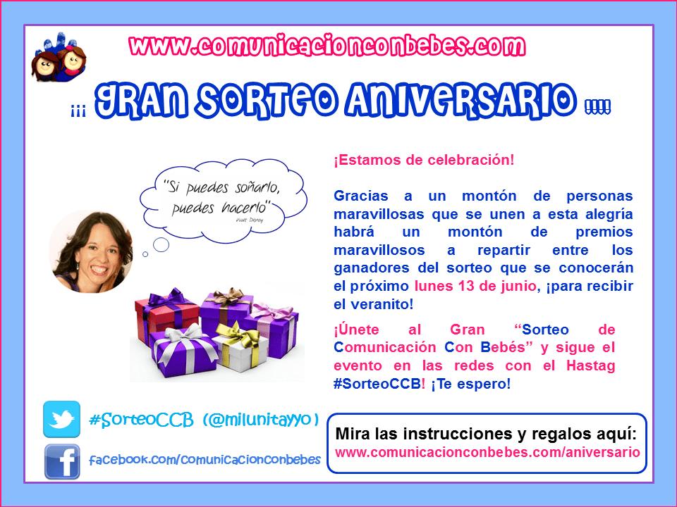 Gran Aniversario #SorteoCCB
