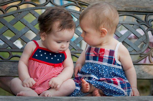 bebés hablando