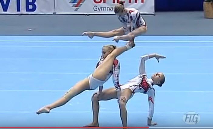gimnasia rítima equipo ucrania
