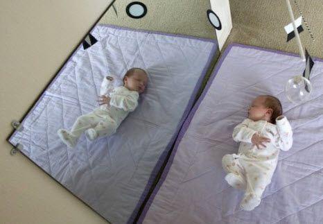 espejo bebe