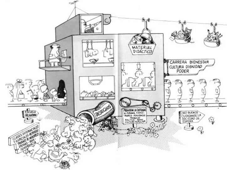 La máquina escolar frato