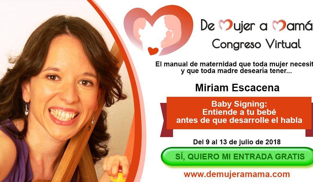"""Quiero invitarte al congreso internacional """"De Mujer a Mamá"""""""