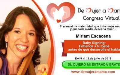 Quiero invitarte al congreso internacional «De Mujer a Mamá»