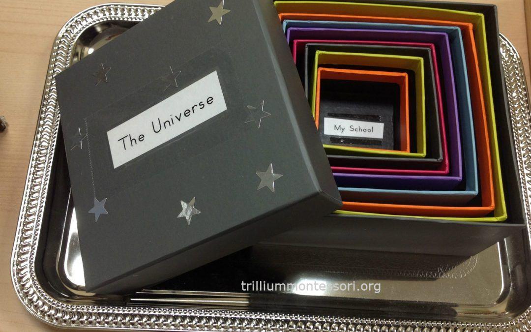 Mi lugar en el Universo según Montessori