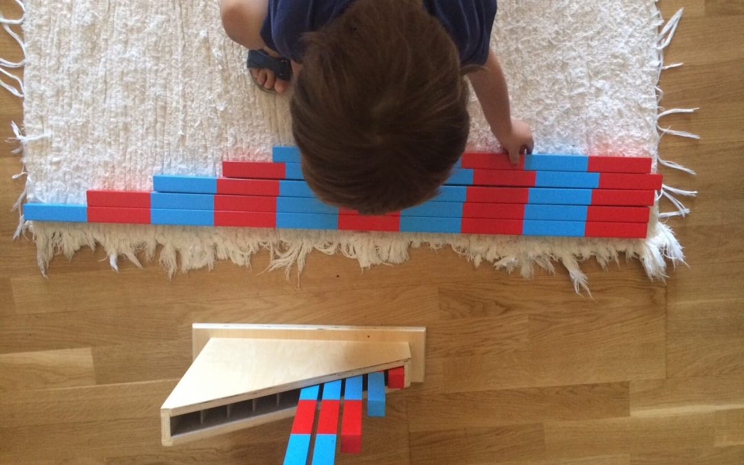 Las barras numéricas Montesori, ¿para qué sirven y cómo se presentan?