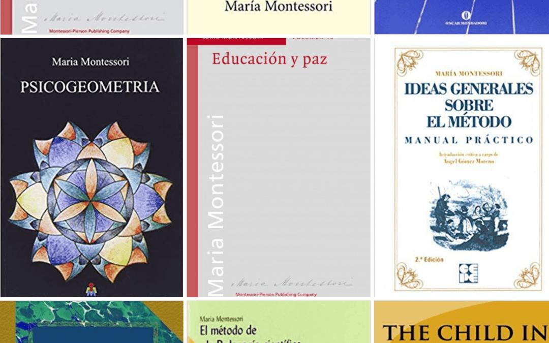 Bibliografía de Maria Montessori