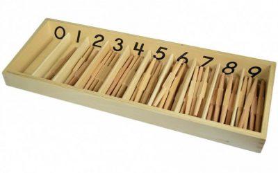 La caja de husos Montessori, ¿en qué consiste este material?