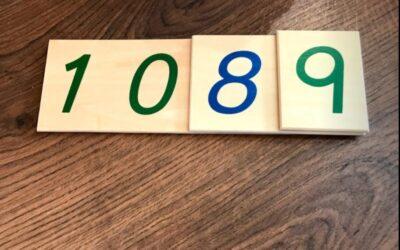 Los Numeros Largos del 1 al 9000, una manera diferente de aprender los nombres de los números