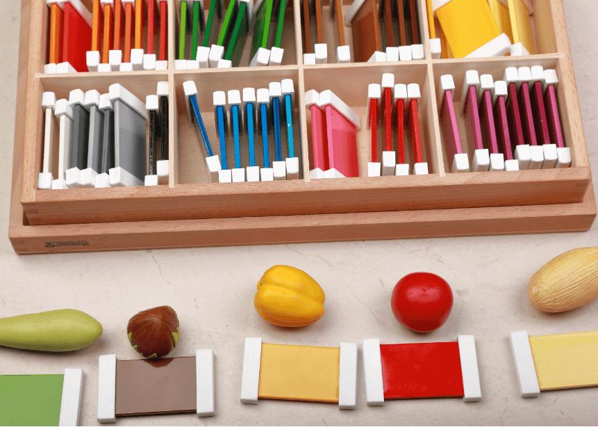 Crea tu caja de color Montessori para el área prematemática