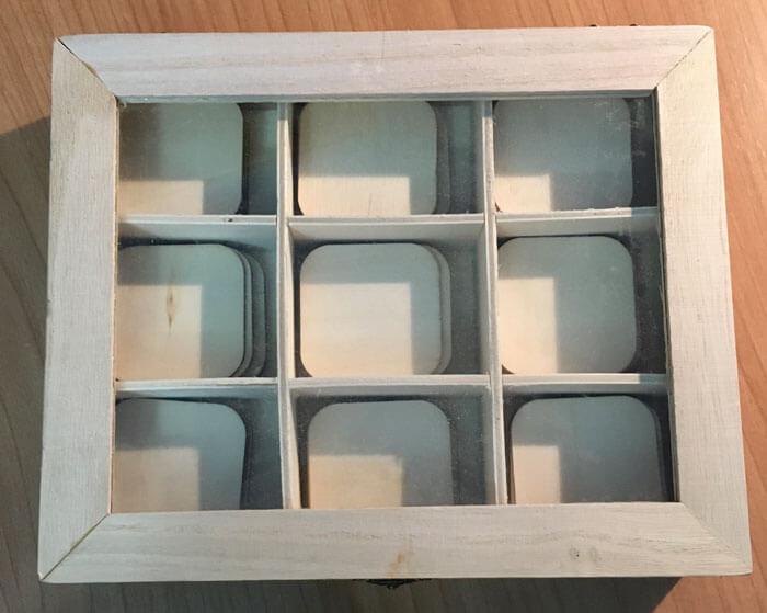 Caja de Color con tablillas en bruto - Caja de Color número 3 Montessori