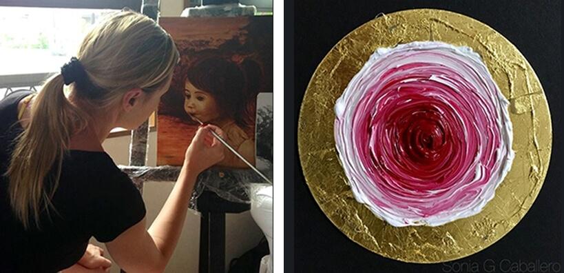 Muestra del arte con influencia oriental de Sonia G Caballero