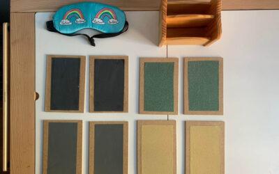 Tableros y Tablillas táctiles Montessori hechos a mano