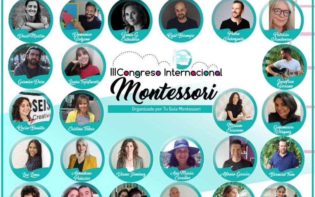 ¡Llega el Congreso Internacional Montessori y se podrá ver de forma gratuita desde cualquier parte del mundo!