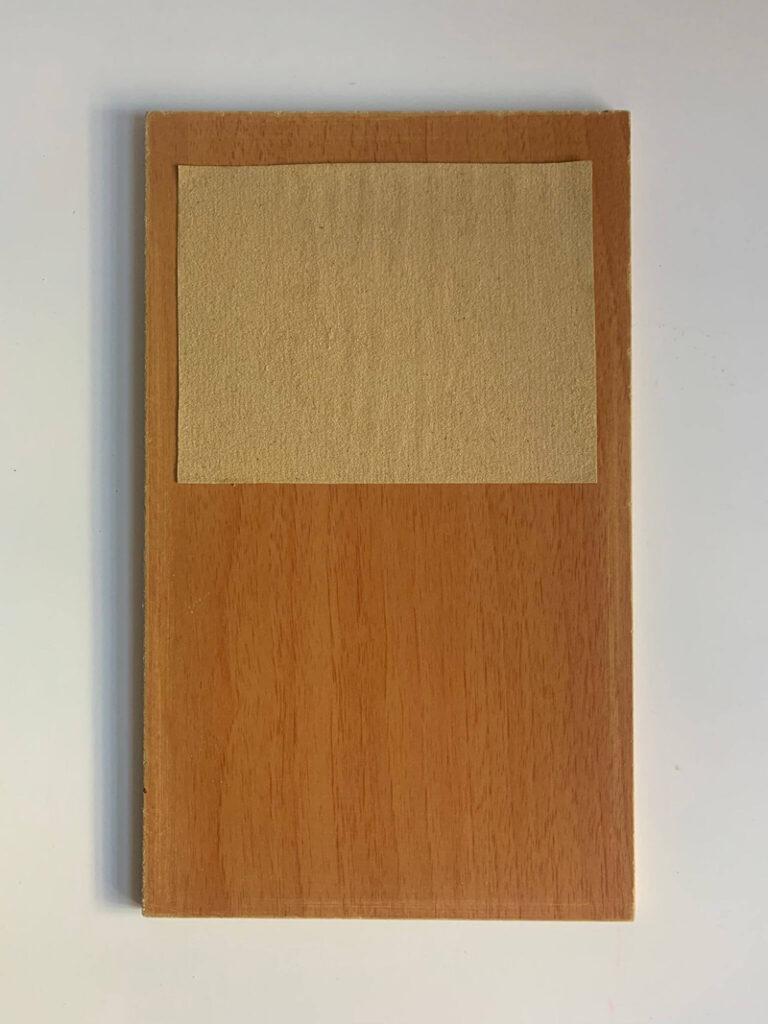 Tablero Montessori - Una textura - Materiales Montessori DIY