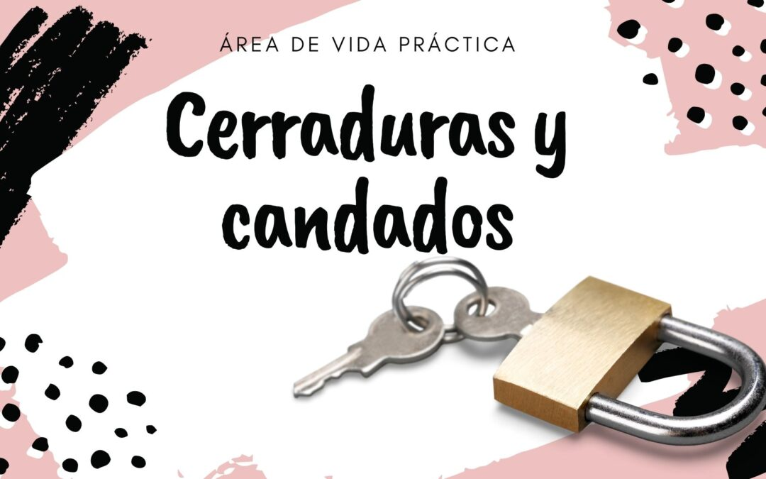 """Cerraduras y Candados DIY """"Área Vida Práctica"""""""